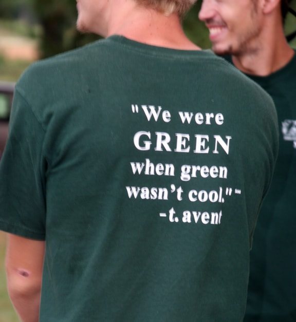 The shirts that the Plant Delights crew were wearing - I've always appreciated that Tony Avent brings a sense of humor to his business.