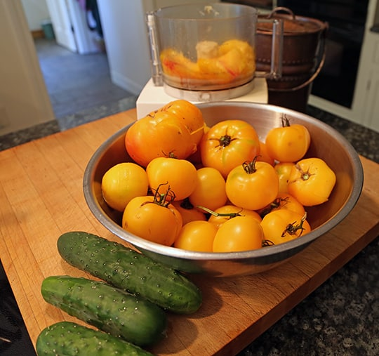 Cooking With Yellow Tomatoes